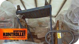 LKW mit kastrophaler Ladungssicherung - Darf der Truck weiterfahren | Achtung Kontrolle | kabel eins