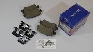 Колодки тормозные задние 583021RA30 Обзор
