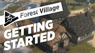 GETTING STARTED - ep 1 - Let's Play Forest Village Gameplay
