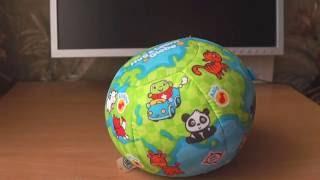 Детская игрушка музкальный интерактивный мягкий мяч, обзор