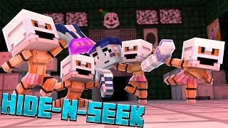 building ballora minecraft fnaf sister location hide n seek