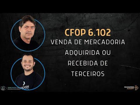 CFOP 6102 - Como e quando utilizar