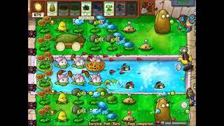 [Plants VS Zombies PC] Survival(Pool) Hard screenshot 5
