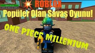⚔️ Ninja Oldum Len! ⚔️  Roblox One Piece Millenium   Roblox Türkçe
