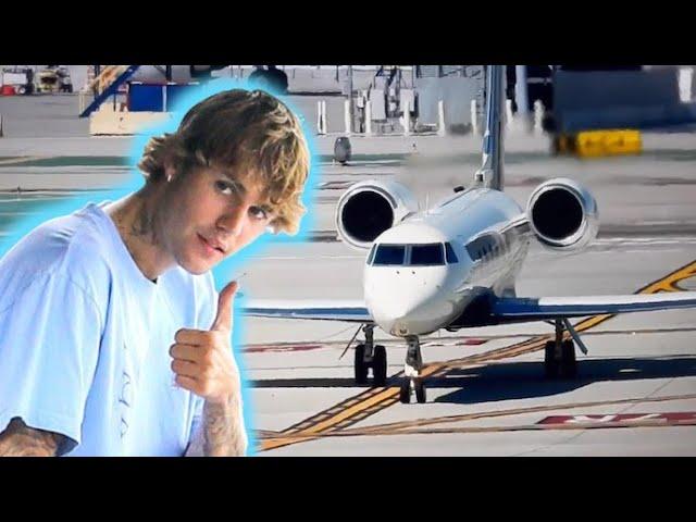 Birthday Boy Justin Bieber Jets To Paris With Wife Hailey Baldwin