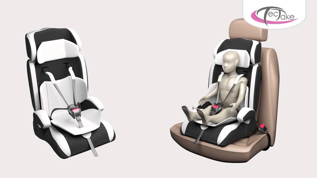 TecTake - Children's Car Seat - YouTube