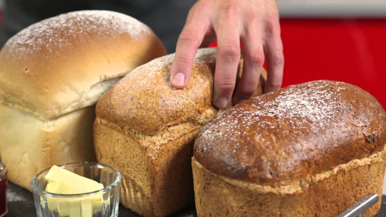 Gluten Free Digital Bread Maker - Tower - YouTube