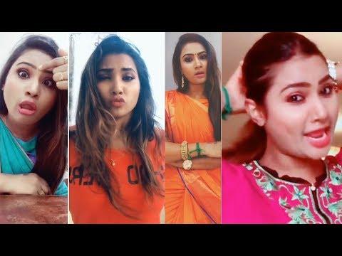 Nandhini Myna Serial Actress Dubsmash Collections - Myhiton