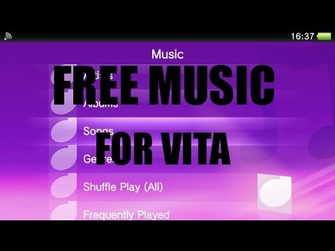 How to get free music for Ps Vita [HD]