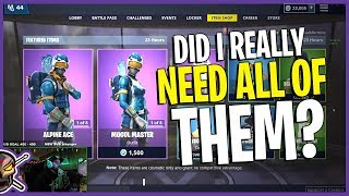 BUT DID I REALLY NEED THEM?! Alpine Ace and Mogul Masters are BACK! - Fortnite Item Shop 12/17/2018