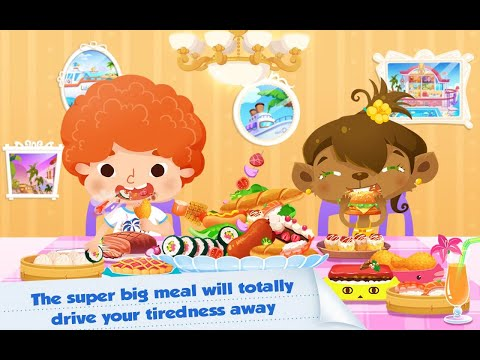 "Candy's Vacation Beach Hotel ""Educational Creativity Games"" Android Gameplay Video"