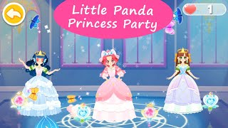 Little Panda Princess Party - Create Themed Costumes for Charming Princesses! | BabyBus Games screenshot 3