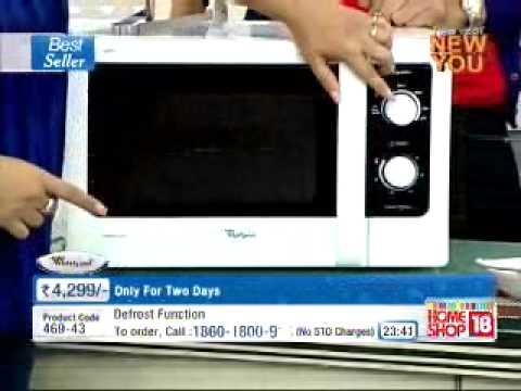homeshop 18 whirlpool grill microwave 4299