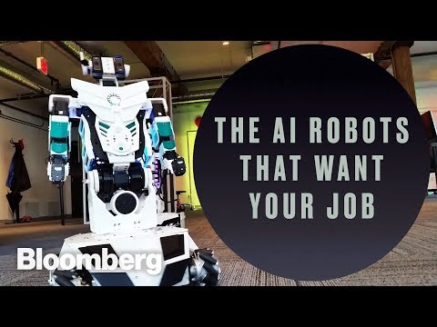 The AI Robots That Want Your Job