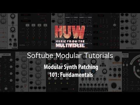 Softube Modular Synth Patch Tutorial 101: Fundamentals