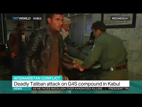 Taliban attack on G4S compound in Kabul kills at least 10