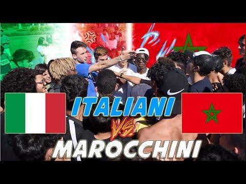 Italiani VS Marocchini - BOTTA E RISPOSTA Tra Paesi ● ITALIA Vs MAROCCO