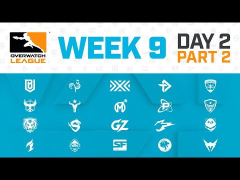 Stream: Overwatch League - Houston Outlaws vs Paris Eternal | Week 9