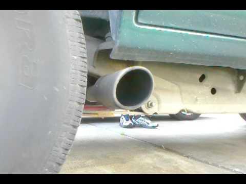 96 chevy blazer exhaust youtube