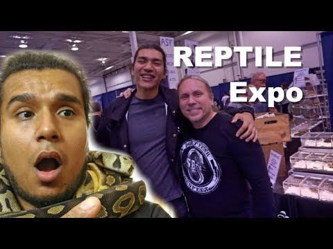 I Got New Reptiles 🐍🐍🐍| Went To The Biggest Reptile Expo Fall 2017