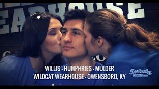Derek Willis, Isaac Humphries, Mychal Mulder - Owensboro, KY