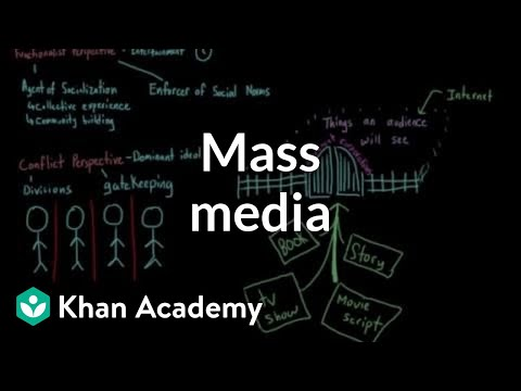 Mass media | Society and Culture | MCAT | Khan Academy