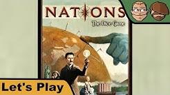 Nations das Würfelspiel - Brettspiel - Let's Play