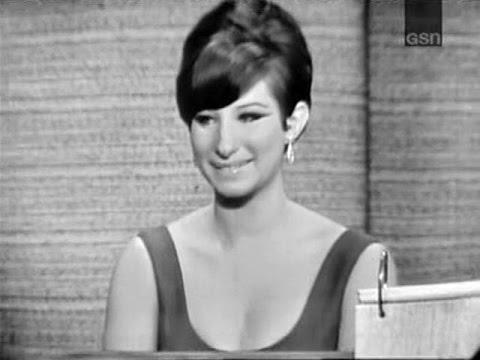 What's My Line? - Barbra Streisand; Tony Randall [panel] (Apr 25, 1965) [W/ COMMERCIALS!]