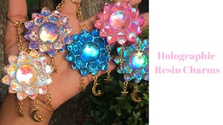Holographic Resin Tutorial (Color Changing & Iridescent) | Watch Me Resin | Sweet Art Crafts