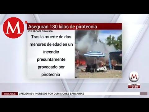 Tras Incendio, Aseguran 130 Kilos De Pirotecnia En Culiacán