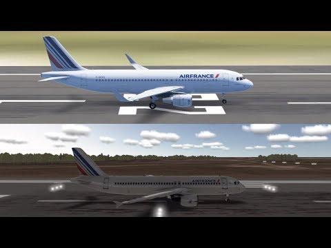 Infinite Flight VS Real Flight Simulator (GRAPHICS)