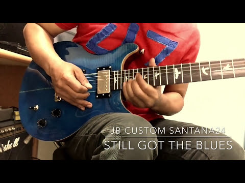 "Gary Moore-still Got The Blues(solo Cover) JB Custom Shop ""SANTANA24"""