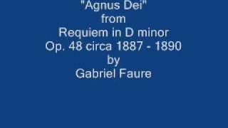 Faure - Agnus Dei