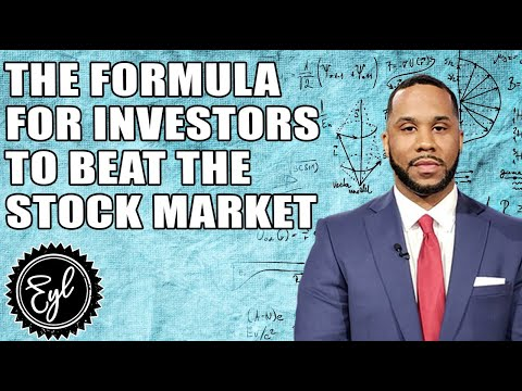THE FORMULA FOR INVESTORS TO BEAT THE STOCK MARKET