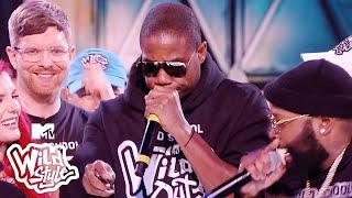 Chico Bean & Karlous Miller Spit An Old School Flo w/ Doug E. Fresh ft. Kiana Ledé 🔥Wild 'N Out