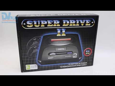 Sega Drive 2 Classic (62 игры) - обзор игровой приставки Sega