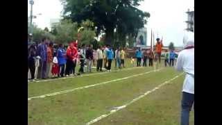 Desa Wlahar Wetan Juara 1 Lomba Egrang Acara HUT RI ke 69 Tahun 2014 Kabupaten Banyumas