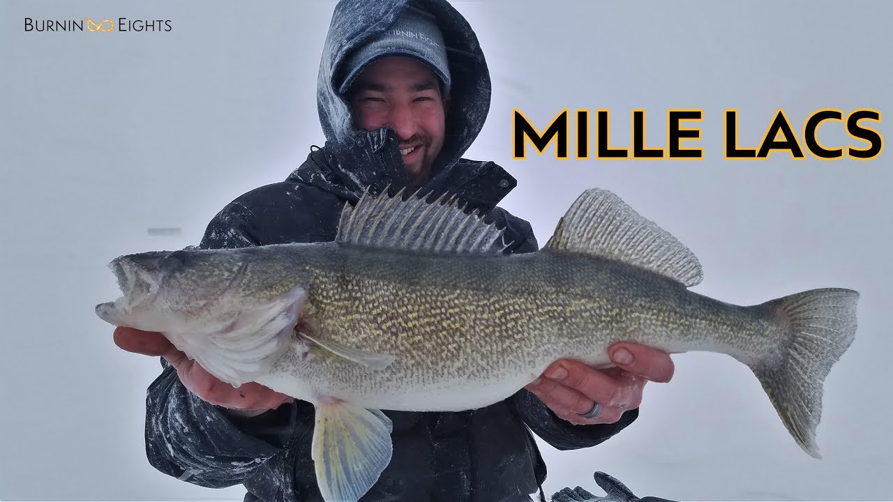Mille Lacs Ice Fishing Report The Best Fish Of 2018