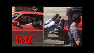 """Jerry Seinfeld Filming """"Comedians In Cars Getting Coffee""""   TMZ"""