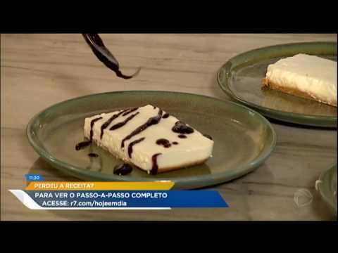 Dalton Rangel Ensina A Preparar Cheesecake Com Leite De Búfala No Caçador De Receitas