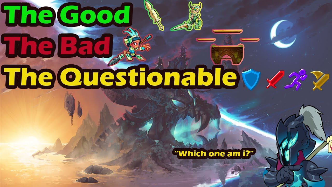 The Good, Bad and Questionable