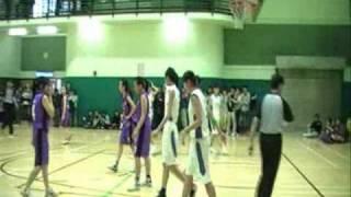 中學校際籃球比賽(女)(D1)(B Grade) 冠軍戰 協