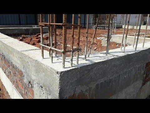 30 × 50 houseplan plinth beam and column reinforcement