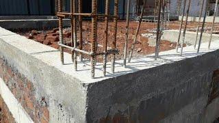 30 × 50 house  plan plinth beam and column reinforcement