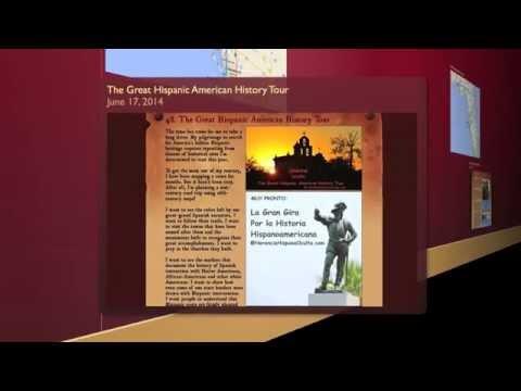 THE GREAT HISPANIC AMERICAN HISTORY TOUR