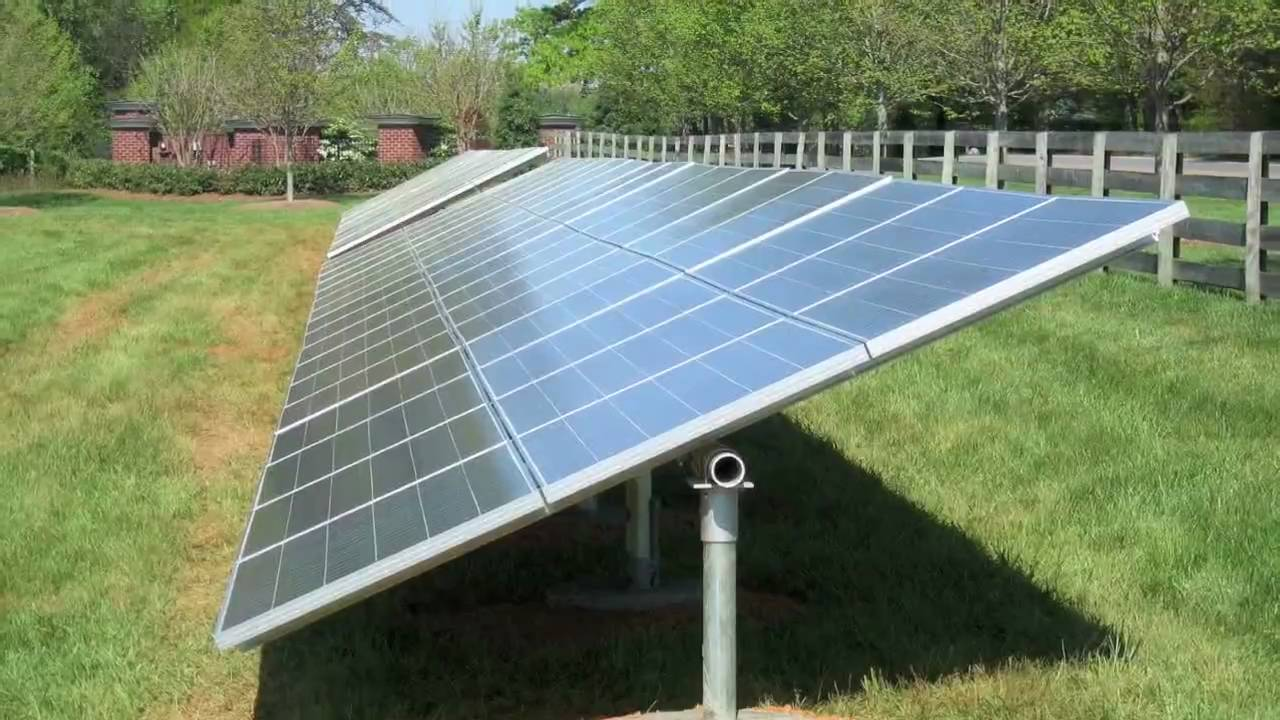 20kw Solar Photovoltaic Pv Array Youtube