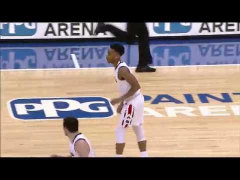 RMU vs. Rider - Men's Basketball Highlights