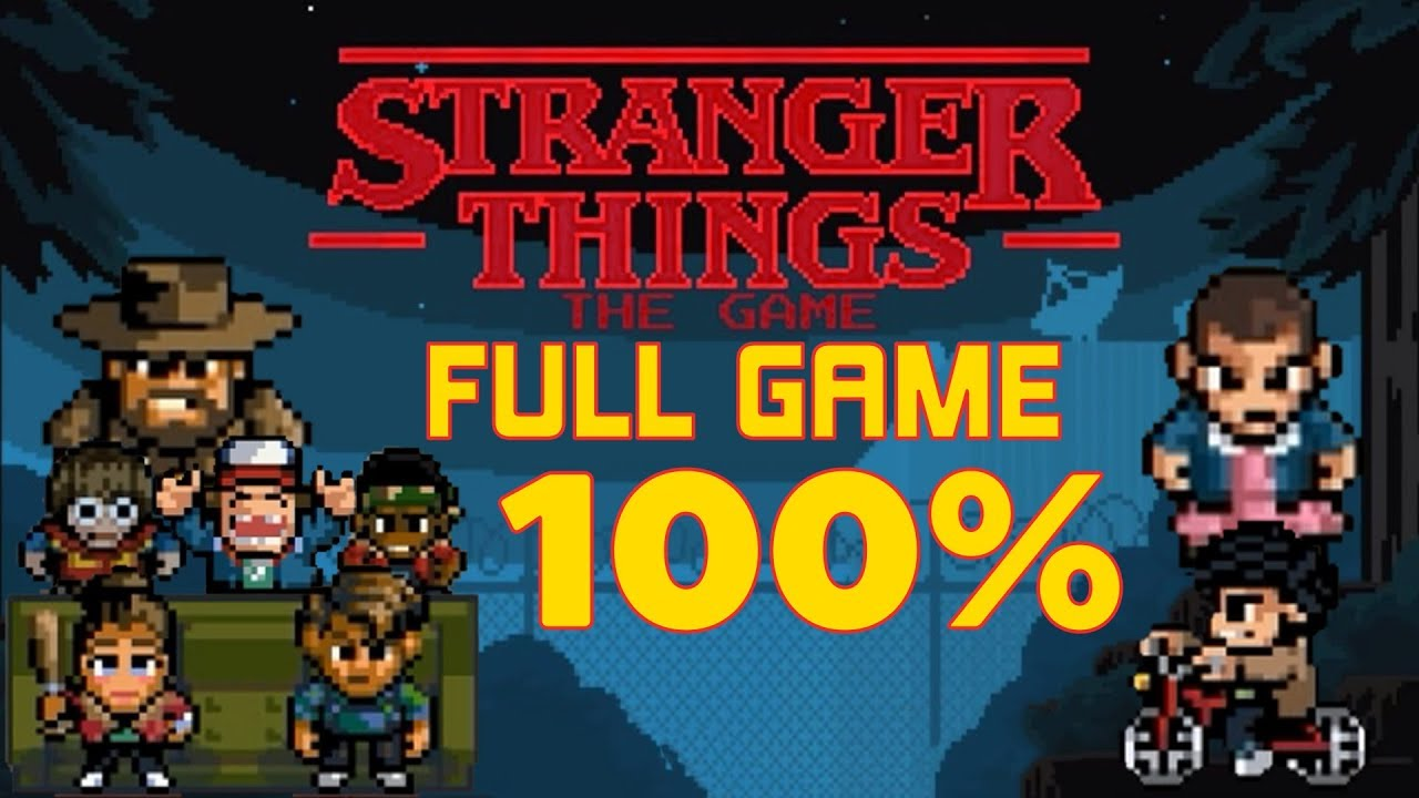 <b>Stranger Things</b> - 100% Full <b>Game Walkthrough</b> - YouTube