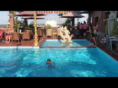 Roof top pool of Okay Boutique Hotel Phnom Penh