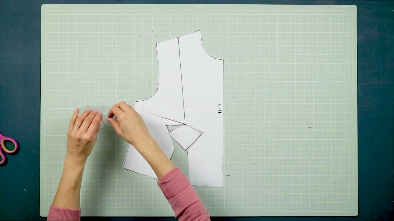Pattern Cutting + Fashion: How To Re-create the Christian Dior Y Dart - Pattern Cutting Tutorial